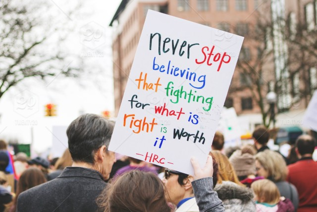 stock photo, women, sign, inspiration, text, crowd, words, quote, signs, quotes, motivation, protest, march, inspirational-quote, activism, motivational-quote, words-in-the-wild, words-of-motivation, woman-march