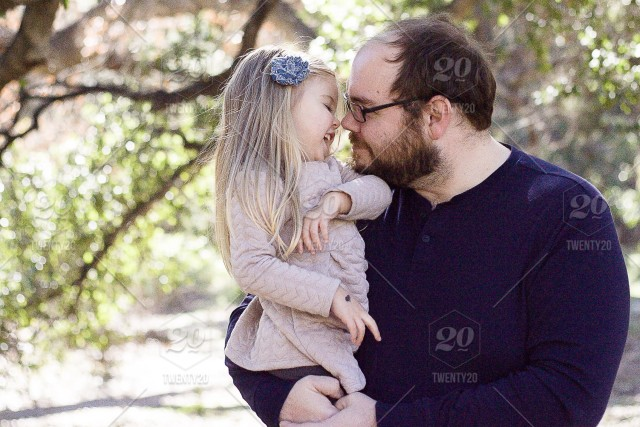 Father Daughter Sweetness Stock Photo E9a91c39 432a 4927