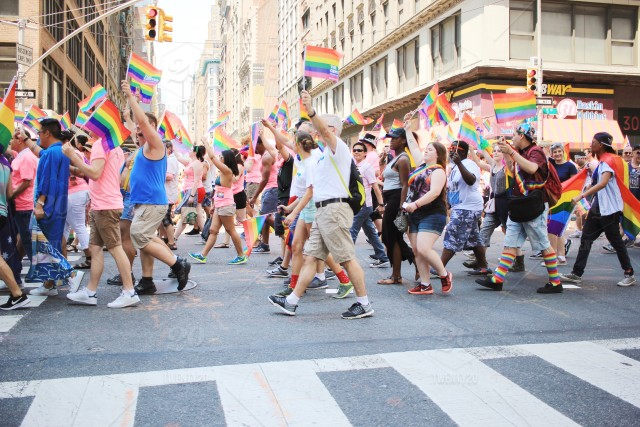stock photo, rainbow, new-york-city, pride, new-york, diversity, nyc, queer, parade, lgbt, rights, marching, lgbtq, gay-rights, lgbt-pride