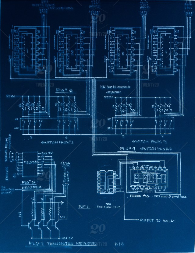 Circuit-board, design, electronic, blueprint, integrated-circuit ...