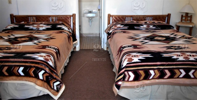 Bed Vibes The Western And Native American Styling Of The Interior Lodging Of A Route 66 Landmark Motel Stock Photo B678b04c 606b 4fde Ac56 De66d50602b6,Modern Small Restaurant Kitchen Design