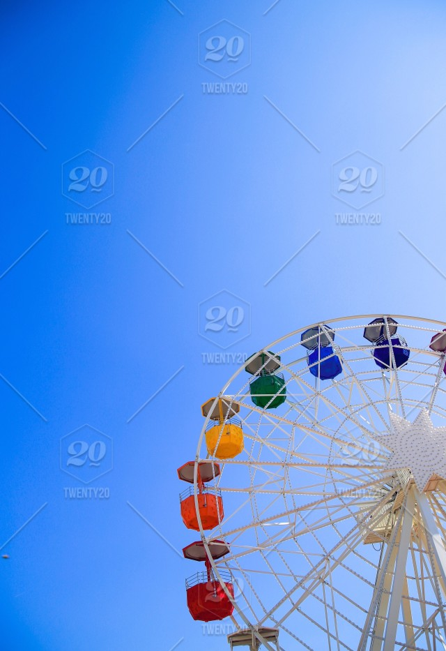 Ferris Wheel On Top Of The Barcelona City Stock Photo 5e05d5ab Bd99 442e A930 3fe16c46ed17