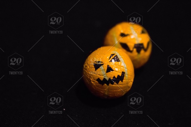 stock photo autumn orange black pumpkin halloween fall minimalist