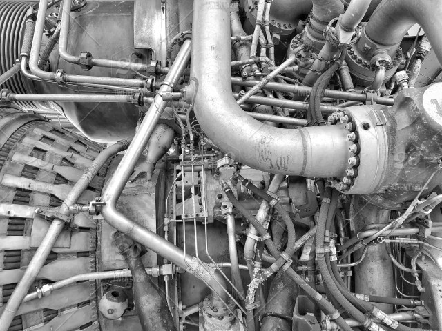 Business End Of The Saturn F 1 Rocket Engine With 1 522m Lbf Of Thrust Stock Photo Ba9f478d A33b 4d20 B70b A86eaddf80e5