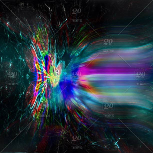 Blooming Abstract Edit Electric Abstract Art Trippy