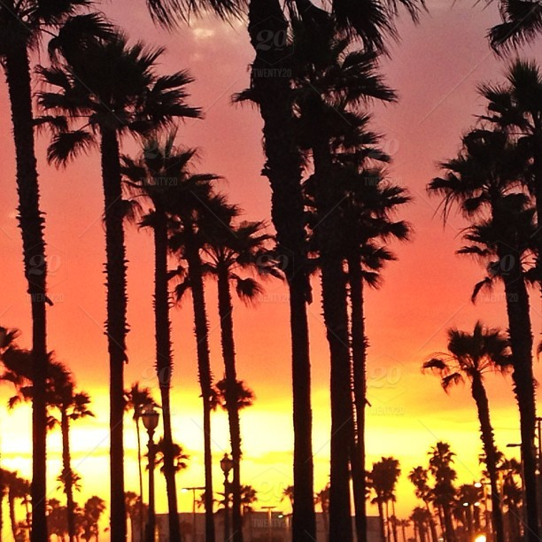 Sunset In Huntington Beach California Stock Photo Ig 498741383010510916 19302105