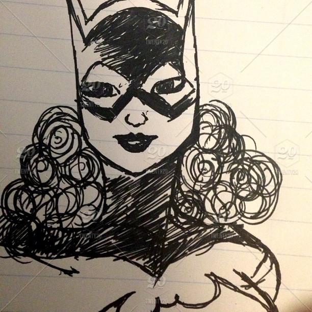 Art Drawing Doodle Dc Hero Heroes Comics Dccomics Batman
