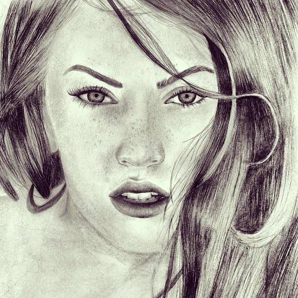 Stock photo people art pencil sketch awesome draw instalove