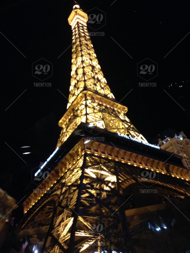 The Eiffel Tower Restaurant In Las Vegas Stock Photo Ff6482f0 C261