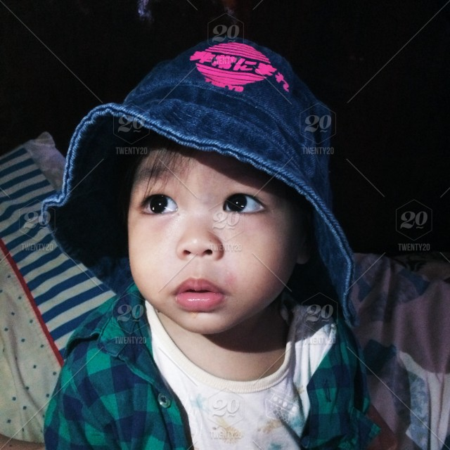 Hat Cute Boy Baby Eyes Adorable Charming Canon Buckethat