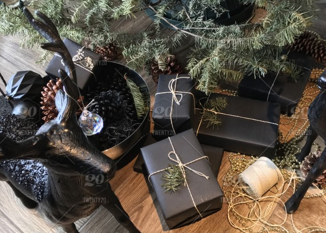 stock photo black christmas cute modern holiday heaven happy