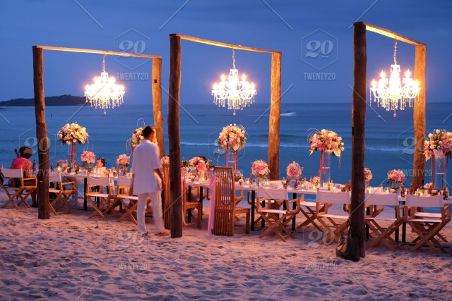 Party On The Beach Stock Photo 7f96aee4 F8cb 4cf3 B691 22a9e47fc6af