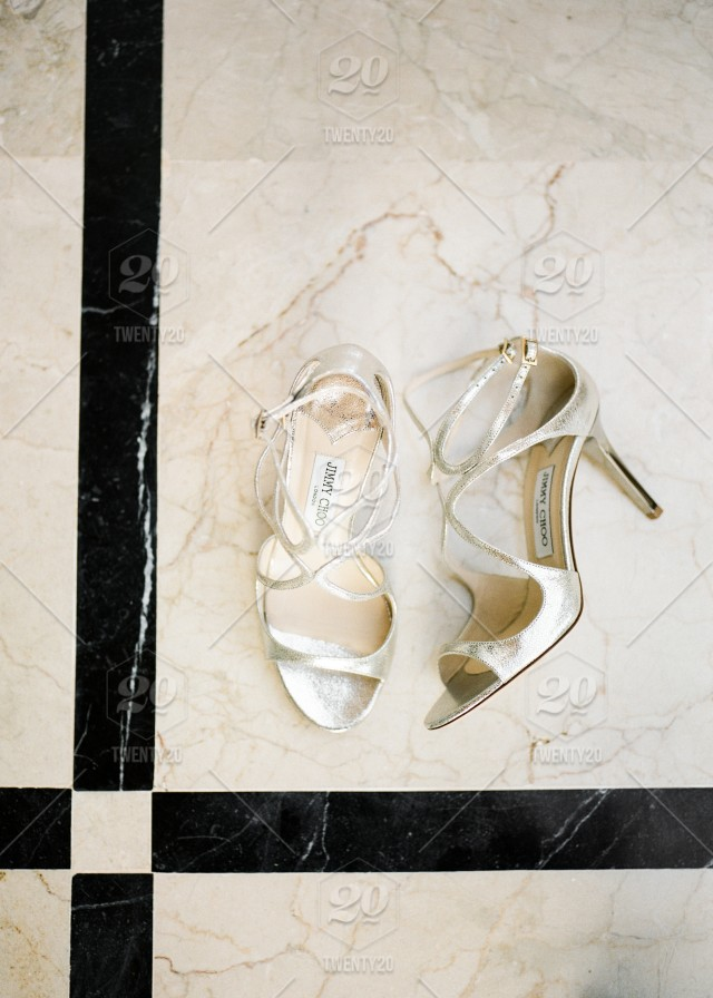 0114aba39d4 Shot from Jimmy Choo wedding shoes - Morocco stock photo ...