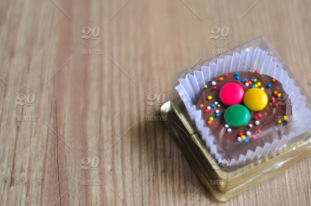 Gourmet Chocolate covered Oreos with colorful sprinkles on top