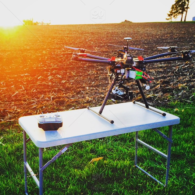 BTS, Behind the Scenes of a DJI S900 Hexacopter drone and