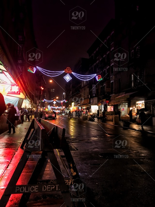 Nyc Chinatown In The Evening Stock Photo 8442488a D84b 441c A54a 085ef924cd85