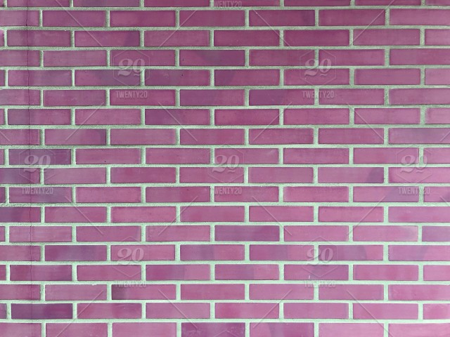 Colorful Pink Brick Wall Background Simple Background
