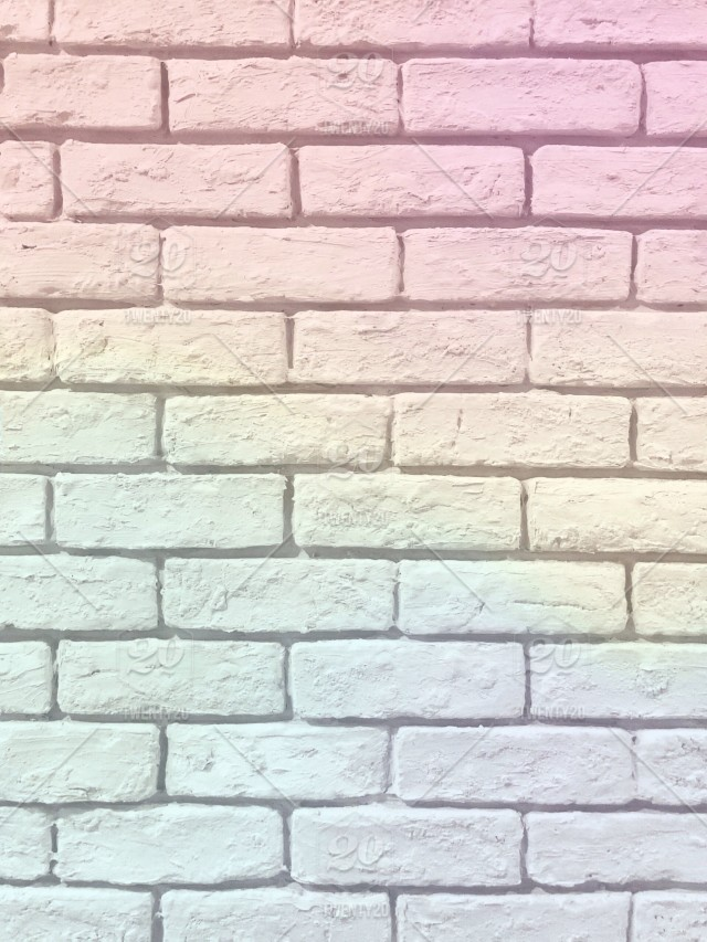 pretty pastel rainbow brick wall lovely pastel background