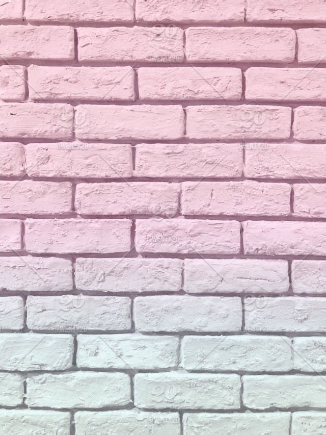 cce25d556db5 Two toned (pink and mint) pastel brick wall 💕 Pretty pastel color  background 💕😍 (pink background