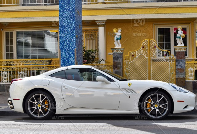 Stock Photo, Yellow, Wealth, Elegant, Rich, Silver Spoon, Ferrari