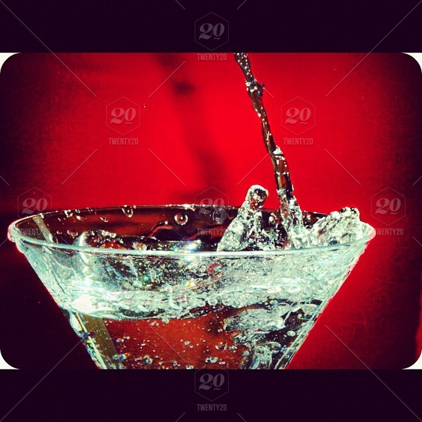 Stock Photo Photography Water Motion Red Glass Macro Shot