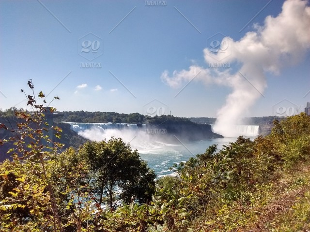 Niagara Falls Canada Usa Stock Photo 36477dd2 9677