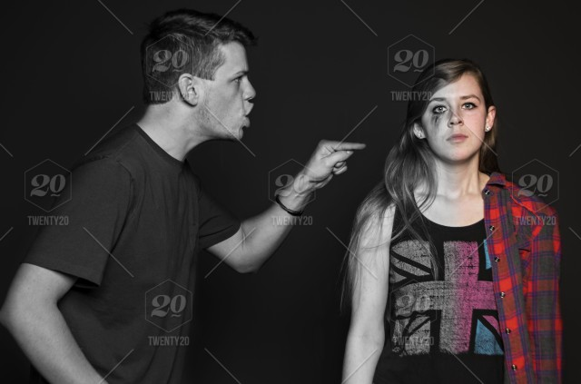 An Illustration To Show The Effects Of Abusive Relationships Stock Photo D4534b42 Be89 40bb 9aba Aab943a938f7