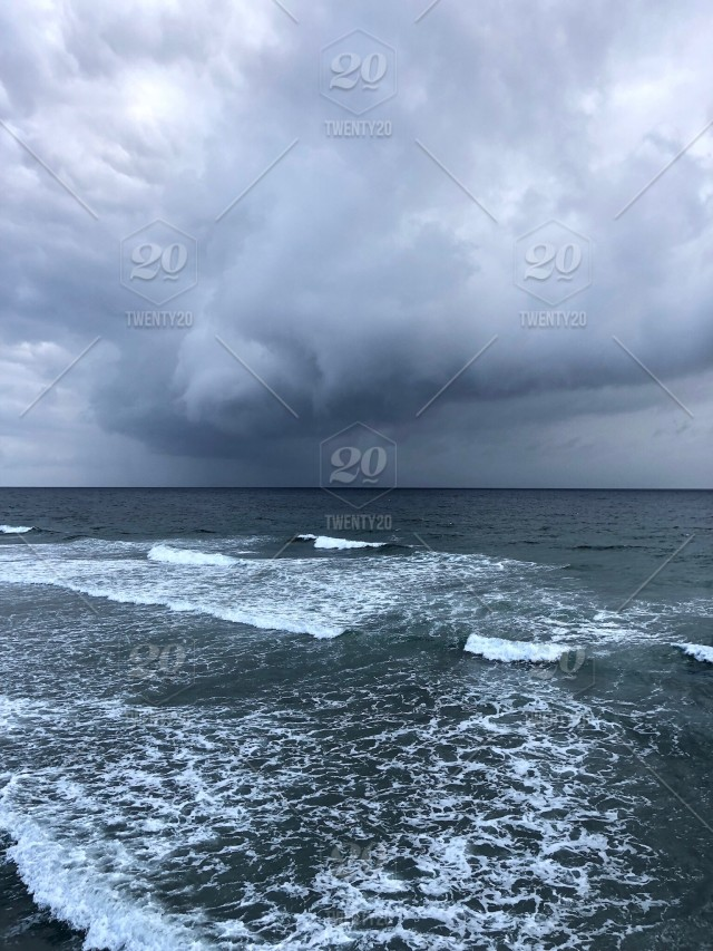 The Sea Looked Angry That Day My Friends Like An Old Man Trying To