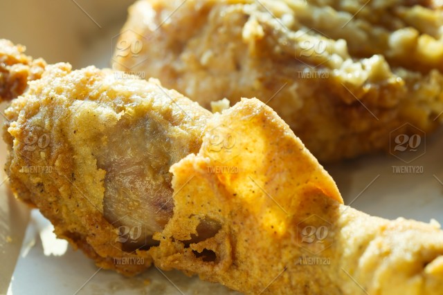 Close Up Of Deep Fried Chicken Drumstick Stock Photo 39efa33a 1918