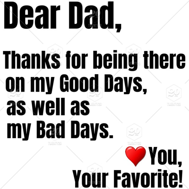 Dear Dad You Are So Awesome That You Too Deserve A Gift On ...