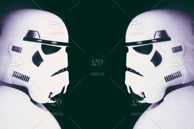 The Profile Of A Stormtrooper From The Star Wars Movies On A Black Background With Copy Space Nominated Stock Photo 1f44c2e9 022b 4e66 B79c 427945d8c36e