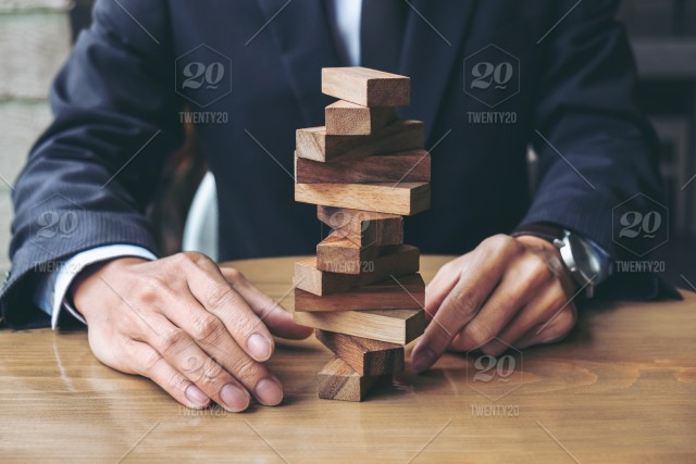 Alternative Risk Concept Plan And Strategy In Business Risk To