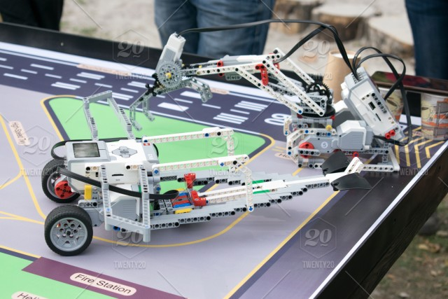 Robotics competitions  Boys and girls construct and programming