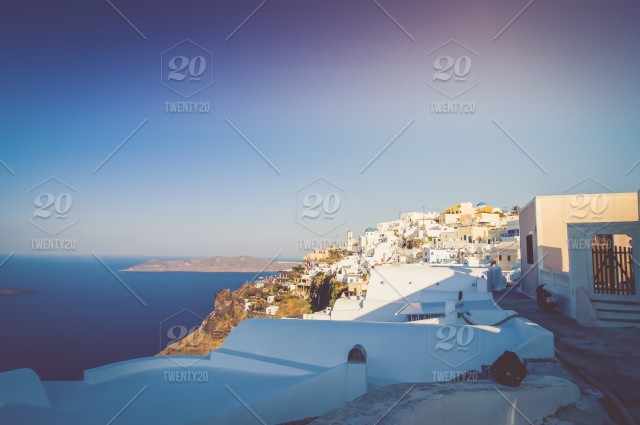 ⚡ Nominated ⚡ The beautiful white village of Fira