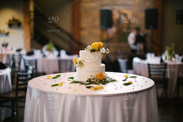 Wedding Cake Table.High Resolution Digital Color Photo Of A Floral Decorated Wedding