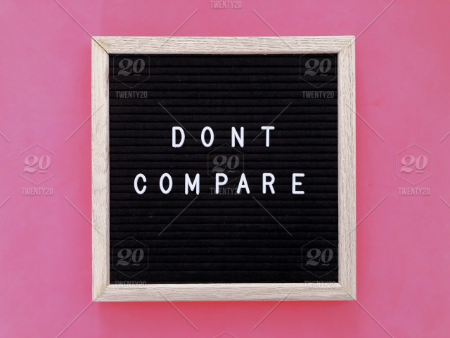 Dont Compare Message Board Quote Quotes Great Quote Life Quote