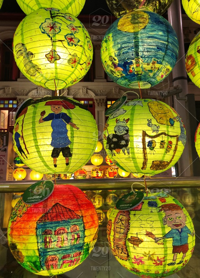 Lanterns at the Mid-Autumn Festival celebration, lanterns