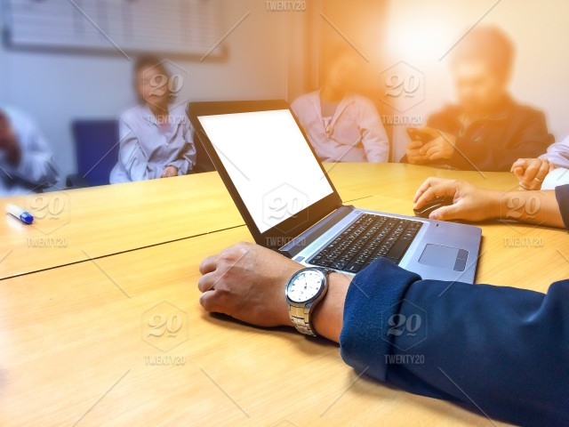 Businessman Meeting In Office With Customer Office Business
