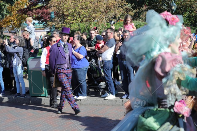 Disneyland Paris Halloween Party 2018.Halloween Parade 2018 At Disneyland Paris France Stock