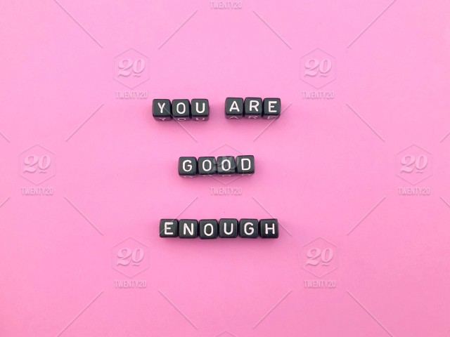 You Are Good Enough Word Words Letters And Words Alphabet