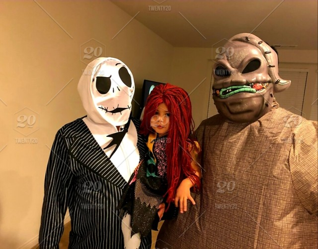 Nightmare Before Christmas Jack Skellington And Oogie Boogie And Little Sally Get Ready To Celebrate Costume Contest Scary Spooky Halloween Night Stock Photo 11e62c41 C293 48b8 853f Ef4d68711647 Secure limbs to hands and feet with. jack skellington and oogie boogie and