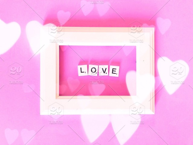 c1cccd07824 White picture frame. Pink background. Heart bokeh. Bokeh effect. Pink hearts.  Lovely. Love. Valentine. Valentine s. Valentines. Valentine day. Valentines  ...