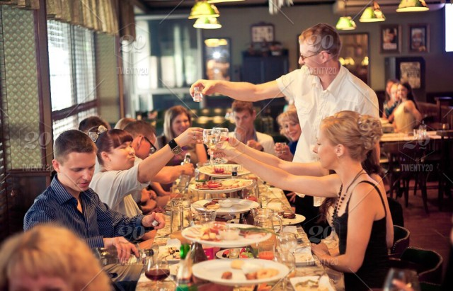 People, food, group-of-people, dinner-party, friends, together,  thanksgiving, thanksgiving-dinner stock photo  9d15f267-8c3b-4fb4-8d46-25e2c809112e