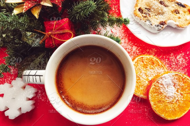 Coffee Christmas Morning.Christmas Morning Coffee Nominated Stock Photo 1345a2d6