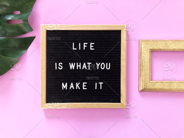 Life Is What You Make It Quote Quotes Great Quotes Life