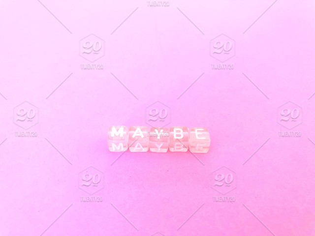 Maybe Pink Letter Blocks Pink Background Minimal Pink On Pink