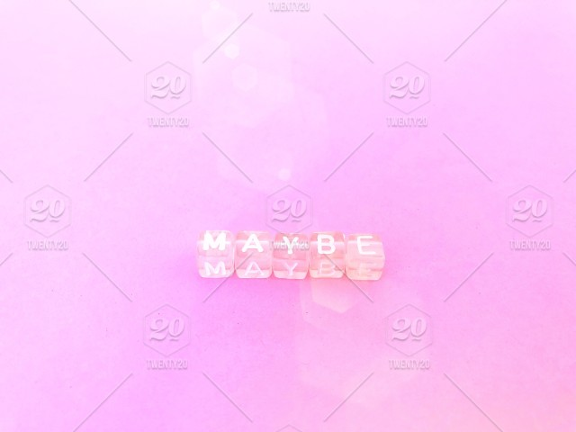247d1e66371 Maybe. Pink letter blocks. Pink background. Minimal. Pink on pink ...