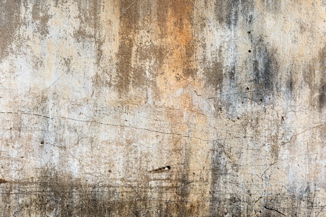 Cracked Concrete Vintage Wall Background Closeup Texture