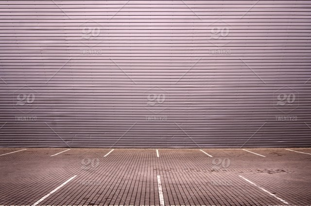 Empty, urban, wall, background, concrete, garage, floor, area