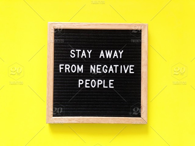 Stay Away From Negative People Life Quote Life Lessons